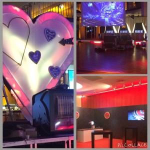ECHO 2015 - Aufbau für Viewing-Lounge und Aftershowparty