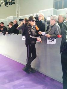 Udo Lindenberg auf dem ECHO-Teppich im Interview mit dem ZDF