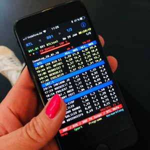 Quotencheck über die Teletext-App, Verena Bender, PR, PRleben, Blog, PR Blog, Kommunikation, Medien, PR Coach, TV Promotion, Kommunikationstraining, Social Media, TV