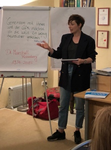 Kathy Weber, Moderatorin und GfK-Trainerin, Verena Bender, PR, Kommunikation, Gewaltfreie Kommunikation, GfK, Public Relations, PR Blog, Pressearbeit, PR Coach, PR Manager