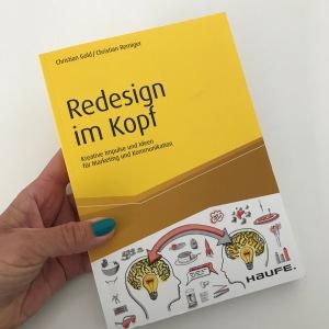 Buchtipp, Verena Bender, PRleben, PR, Kommunikation, PR Blog, TV Promotion, Lesen, Buch, Lesestoff, Redesign im Kopf