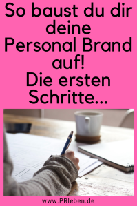 Bald viel mehr zum Thema Personal Branding, Be your Brand, Verena Bender, PRleben, Kommunikation, Medien, Presse, Coach, PR Idee, Motivation